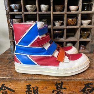Jc DC Castelbajac high top shoes boots sneakers